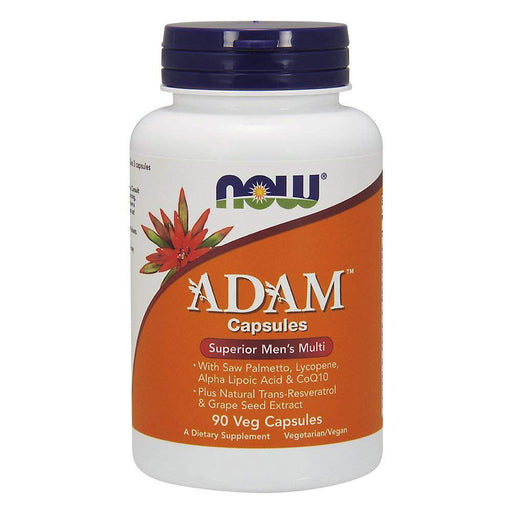 Now Foods Vitamins, Minerals, Herbs & More Now Foods Adam Male Multi 90 Vegetable Capsules (582242238508)