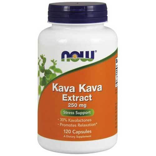 Now Foods Vitamins, Minerals, Herbs & More Now Foods Kava Kava 250 Mg 30% 120 Capsules (582258655276)