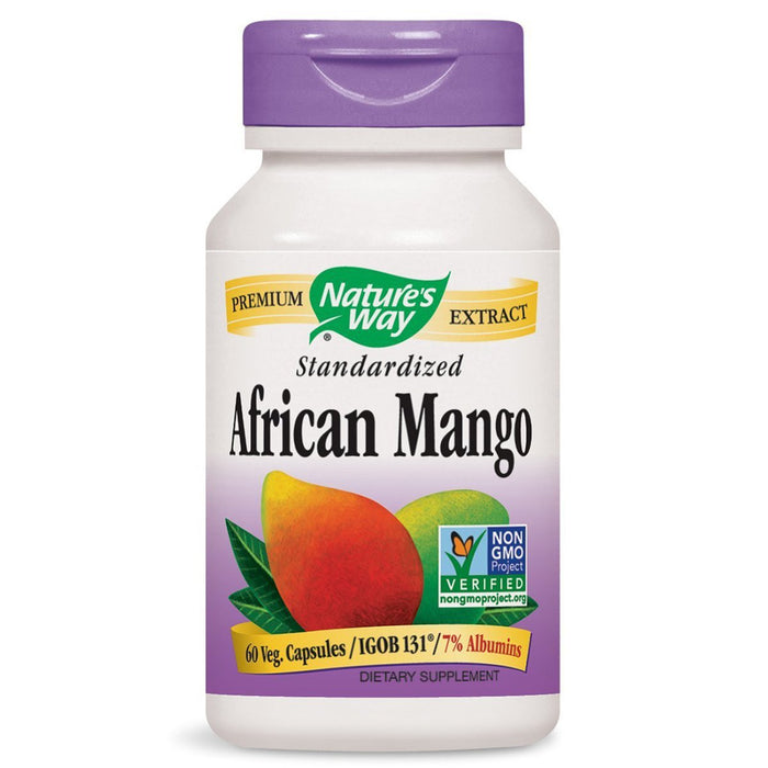 Nature's Way Sports Nutrition & More Nature's Way African Mango 150mg 60 Vege Caps (581435392044)
