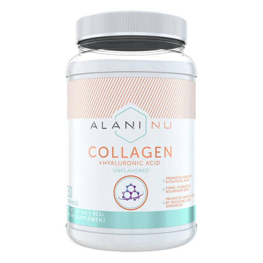 Alani Nu Vitamins & Minerals Default Alani Nu Collagen Powder Unflavored 30srv (1797447712812)