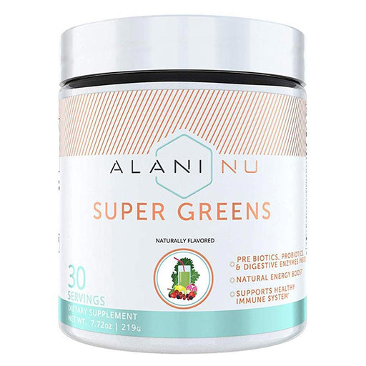 Alani Nu Specialty Health Products Alani Nu Super Greens 30 Servings Fruit Punch (4420225630323)