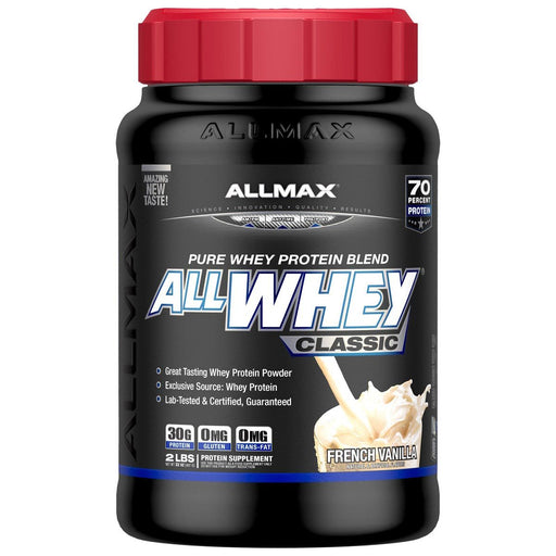 Allmax Nutrition Sports Nutrition & More Chocolate Allmax Nutrition AllWhey Classic 2 Lbs (582459195436)