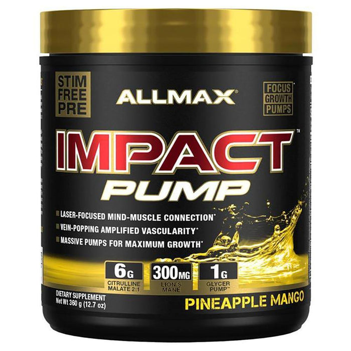 Allmax Nutrition Sports Nutrition & More Pineapple Mango Allmax Nutrition Impact PUMP (1589163687980)