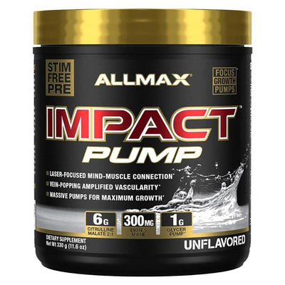 Allmax Nutrition Sports Nutrition & More Unflavored Allmax Nutrition Impact PUMP (1589163687980)