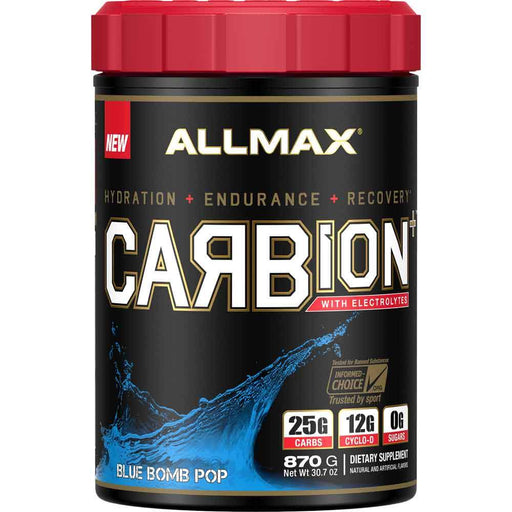 Allmax Nutrition Sports Nutrition & More Blue Bomb Pop Allmax Nutrition Carbion 2 Lbs (581757599788)