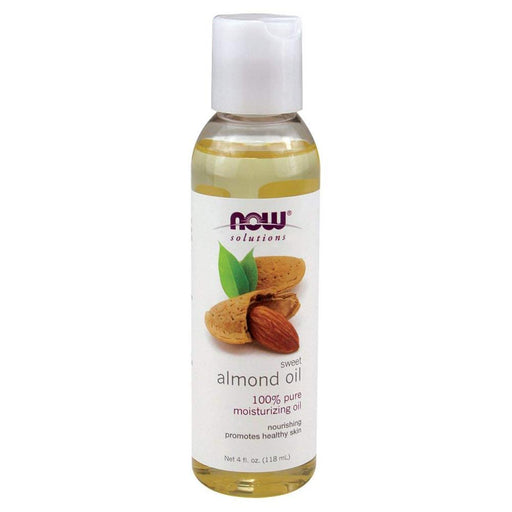 Now Foods Vitamins, Minerals, Herbs & More Now Foods Almond Oil 4 Oz (582144163884)
