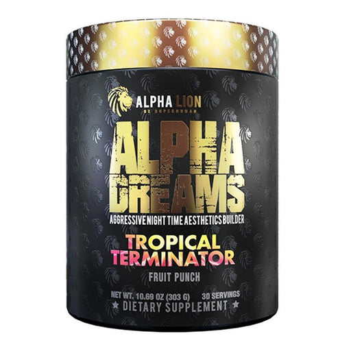 Alpha Lion Specialty Health Products Tropical Terminator Alpha Lion Alpha Dreams 30 Servings (4358927515763)