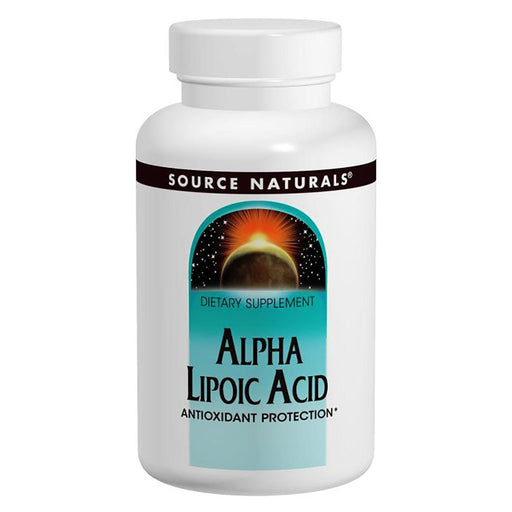 Source Naturals Vitamins, Minerals, Herbs & More Source Naturals Alpha Lipoic Acid 200mg - 60 Caps (580846190636)