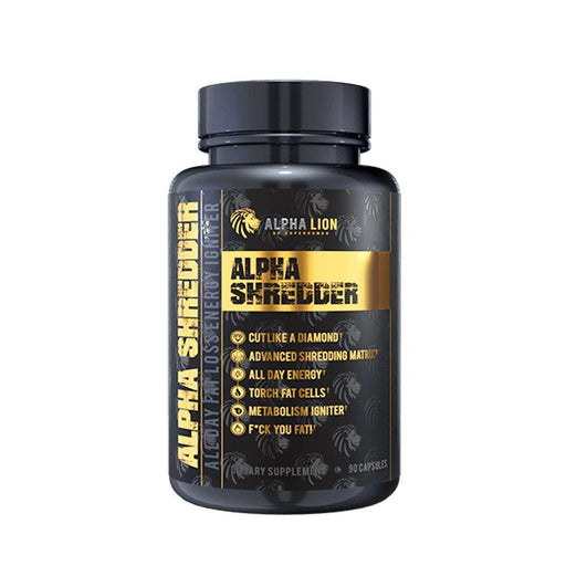 Alpha Lion Fat Burner Alpha Lion Alpha Shredder (4358927188083)