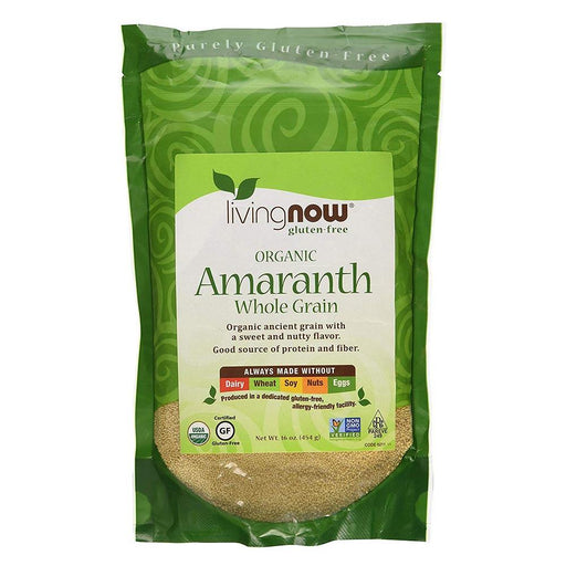 Now Foods Sports Nutrition & More Now Foods Amaranth Grain Organic 1 Lb (582320095276)