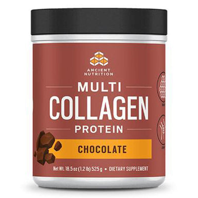 Ancient Nutrition Protein Powders Chocolate Ancient Nutrition Dr. Axe Multi Collagen Protein 1lb (1289348874284)
