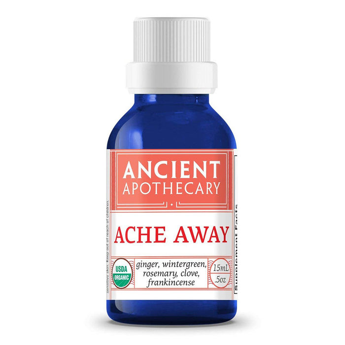 Ancient Apothecary Specialty Health Products Default Ancient Apothecary Ache Away Oil .5 Oz (1101989347372)