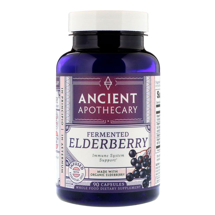 Ancient Apothecary Specialty Health Products Default Ancient Apothecary Elderberry 90C (1101989117996)