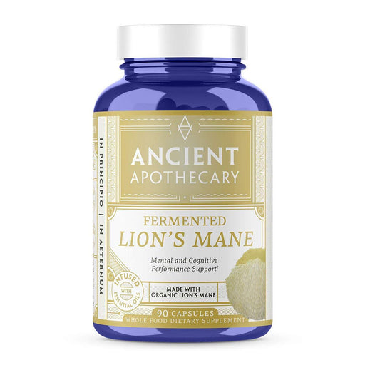 Ancient Apothecary Specialty Health Products Default Ancient Apothecary Lion's Mane 90C (1101989511212)