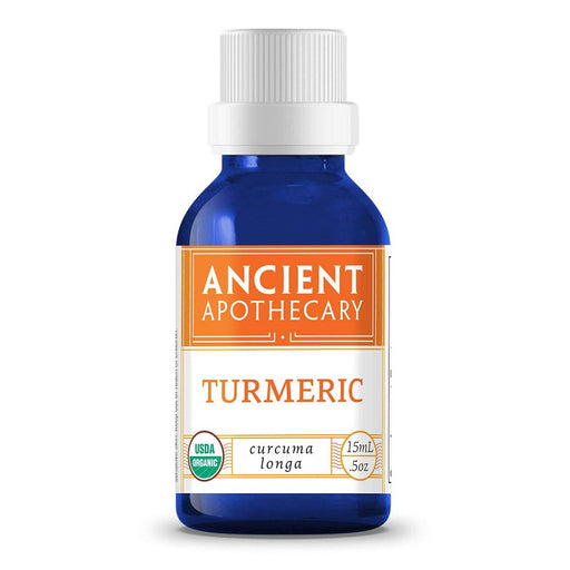 Ancient Apothecary Specialty Health Products Default Ancient Apothecary Turmeric Oil .5 Oz (1101989937196)