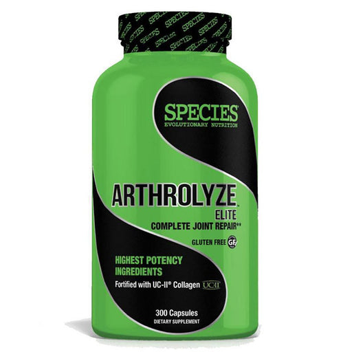Species Nutrition Sports Nutrition & More Species Nutrition Arthrolyze 300 Caps (580952031276)