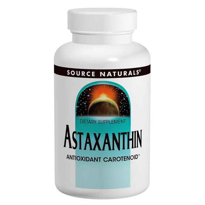 Source Naturals Vitamins, Minerals, Herbs & More Source Naturals Astaxanthin 2mg 60 Tabs (581318213676)