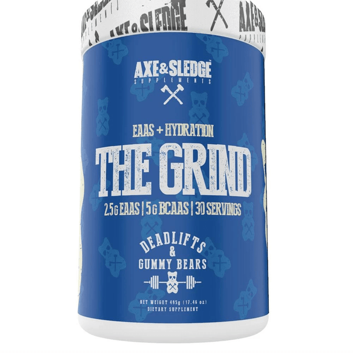 AXE & SLEDGE Amino Acids DEADLIFTS AND GUMMY BEARS Axe & Sledge Grind 30 Servings (3828781613100)