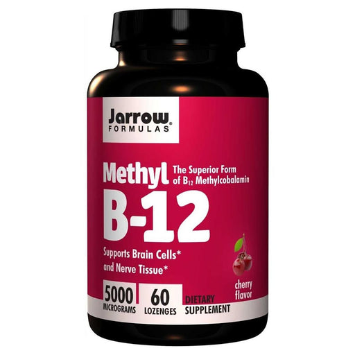 Jarrow Formulas Vitamins, Minerals, Herbs & More Jarrow Formulas Methyl B-12 5000mcg 60 Lozenges (581528059948)