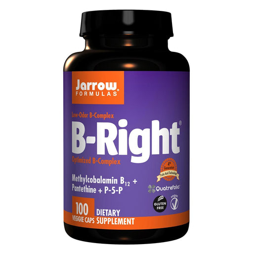 Jarrow Formulas Vitamins, Minerals, Herbs & More Jarrow Formulas B-Right 100 Vege Caps (581532090412)