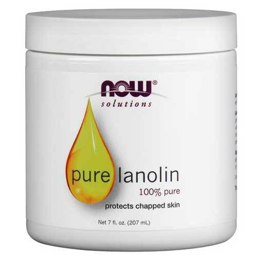 Now Foods Vitamins, Minerals, Herbs & More Now Foods Lanolin 100% Pure 7 Oz (582298927148)