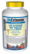 Life Extension Vitamins, Minerals, Herbs & More Life Extension Mix TABS with Extra Niacin 100 Tabs (581078417452)