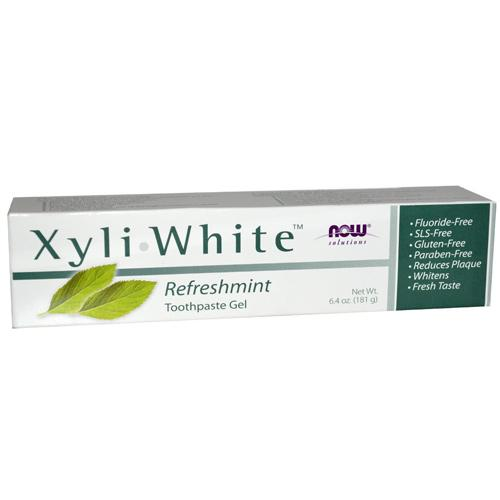 Now Foods Vitamins, Minerals, Herbs & More Now Foods XyliWhite Refreshmint 6.4 Oz (581990744108)