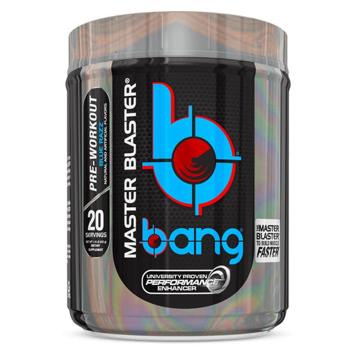 VPX Sports Nutrition & More Blue Razz VPX Bang Master Blaster 20 Serving (1390346764332)