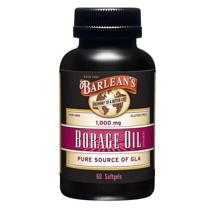 Barlean's Borage Oil 1000mg 60sg (1768120090668)