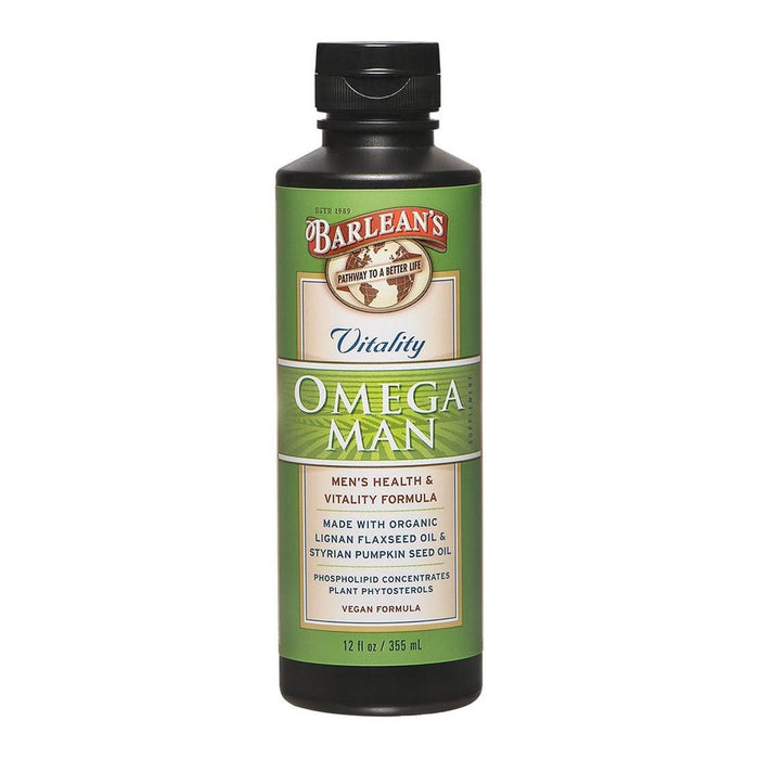 Barlean's Essential Fatty Acids & - Oils Default Barlean Omega Man 12oz (1768125399084)