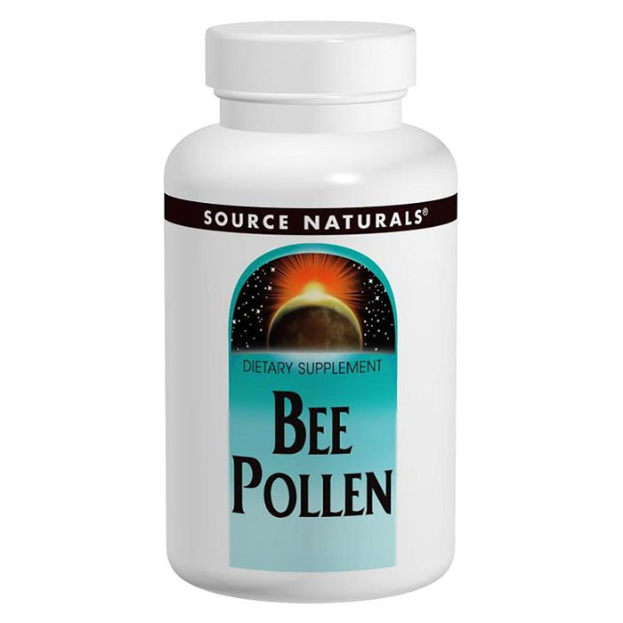Source Naturals Vitamins, Minerals, Herbs & More Source Naturals Bee Pollen 500mg 250 Tabs (580870701100)