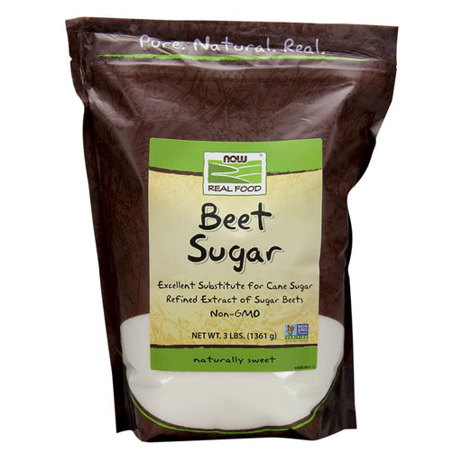 Now Foods Vitamins, Minerals, Herbs & More Now Foods Beet Sugar 3 Lb (582228705324)