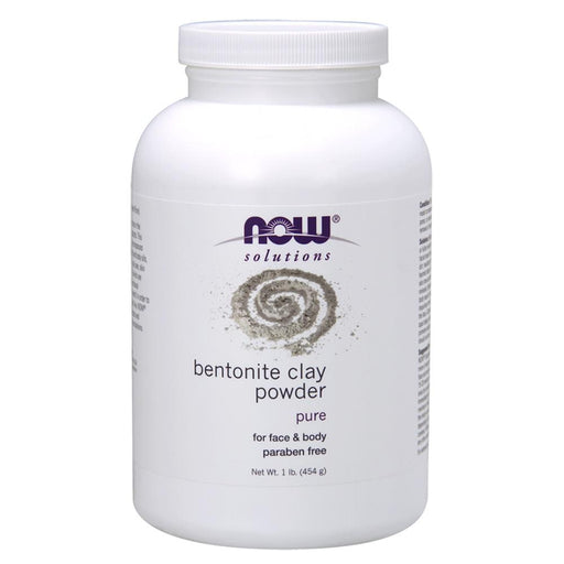 Now Foods Vitamins, Minerals, Herbs & More Now Foods Bentonite Clay Powder 1 Lb (582316556332)