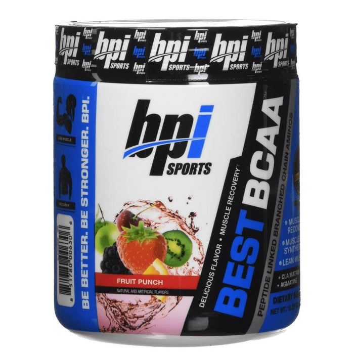 Bpi Amino Acids Fruit Punch BPI Sports Best BCAA 30 Servings (4285080010796)