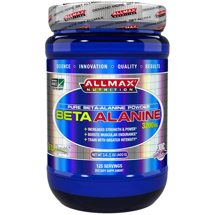 Allmax Nutrition Sports Nutrition & More Allmax Nutrition Beta-Alanine 400 Grams (581316640812)