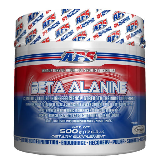 APS Nutrition Sports Nutrition & More APS Nutrition Beta Alanine 500 Grams (581535072300)