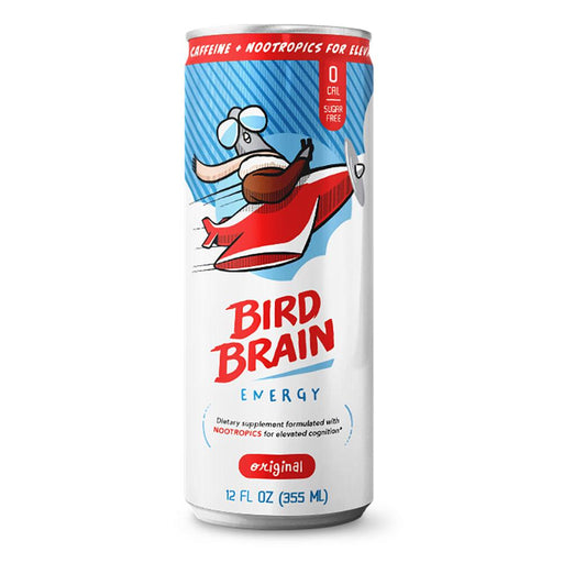 Bird Brain Drinks Original Bird Brain Energy 12/case (4534186246259)