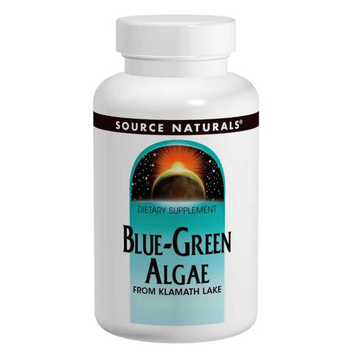 Source Naturals Vitamins, Minerals, Herbs & More Source Naturals Blue-Green Algae 500mg 100 Tabs (580830920748)