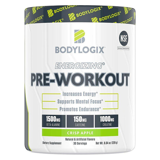Bodylogix Sports Performance Recovery Crisp Apple Bodylogix Energizing Pre-Workout 30 Servings (1741070762028)