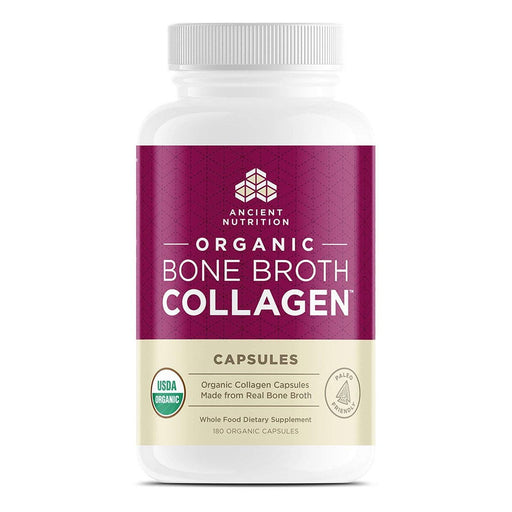 Ancient Nutrition Specialty Health Products Default Ancient Nutrition Organic Bone Broth Collagen 180C (1102014119980)