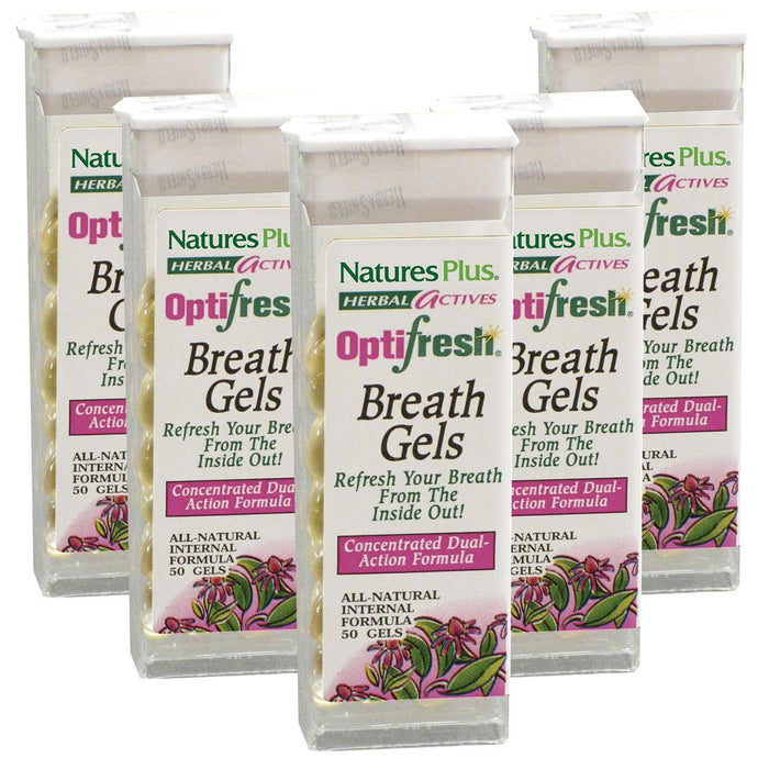 Nature's Plus Vitamins, Minerals, Herbs & More Nature's Plus Optifresh Breath Gels 12 Pack (580824432684)