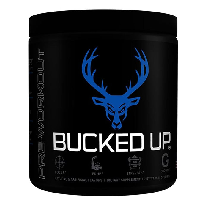 Bucked Up Bucked Up 30 Servings Blue Raz (3897243435052)