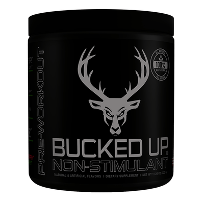Bucked Up Sports Performance Recovery Stim LR Bucked Up Stim Free 30 Servings (3897412321324)