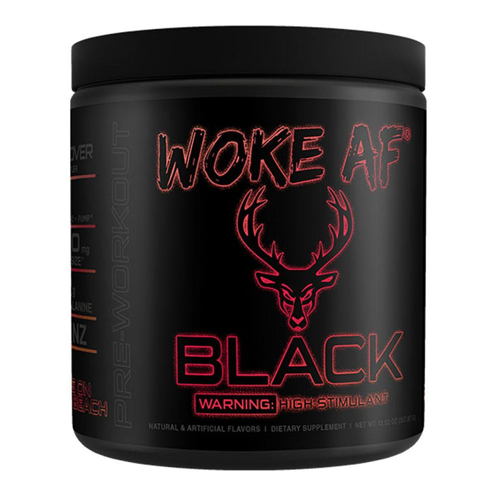 Bucked Up Sports Performance Recovery Sets On The Beach Bucked Up Woke AF BLACK 30 Servings (4325412733043)