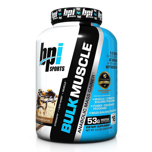 Bpi Sports Nutrition & More Chocolate Peanut Butter Bpi Bulk Muscle 5.82 Lbs (582013812780)