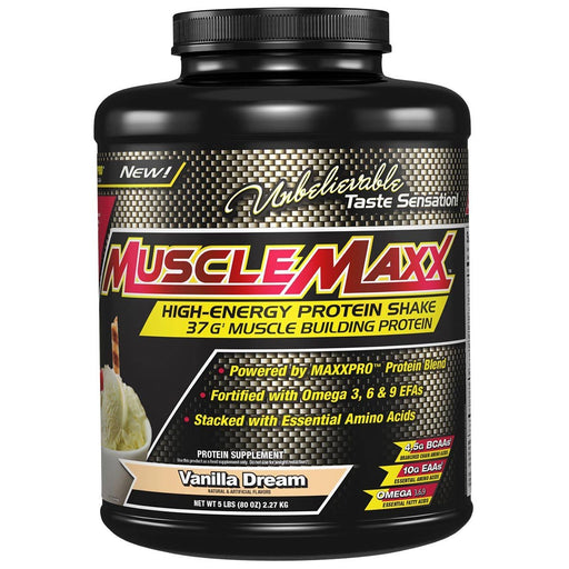 MuscleMaxx Sports Nutrition & More Chocolate Fudge MuscleMaxx MuscleMaxx Bulk Whey 10lbs (581220040748)