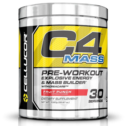 Cellucor Sports Nutrition & More Fruit Punch Cellucor C4 Mass 30 Servings (582346833964)
