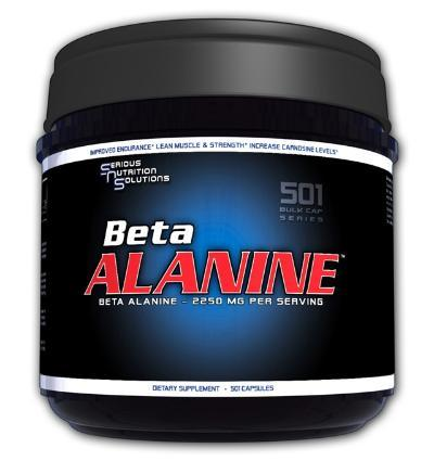 Serious Nutrition Solutions Serious Nutrition Solutions Beta Alanine 2250mg 501 Caps (581284921388)