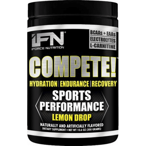 IFORCE Sports Nutrition & More Fruit Punch Slam Compete 300 Grams (581424381996)