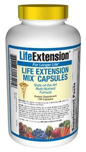 Life Extension Vitamins, Minerals, Herbs & More Life Extension Mix CAPS 100 Caps (581175345196)